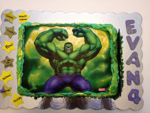 Hulk Birthday Cakes Hulk Birthday Cakes Classic Style Coolest Incredible Hulk