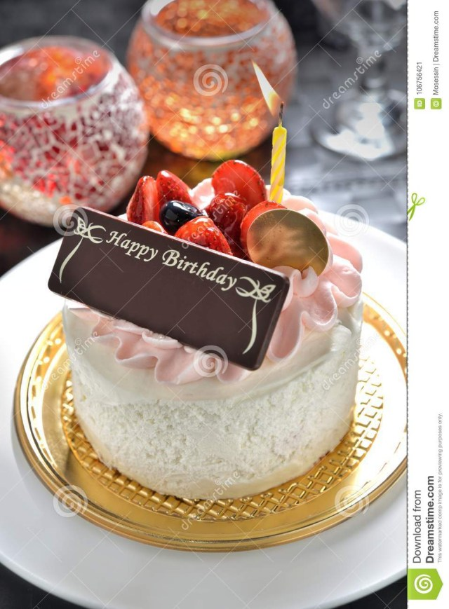 Images Of Happy Birthday Cakes Birthday Cake With Name Tag Stock Image Image Of Chocolate Cheer