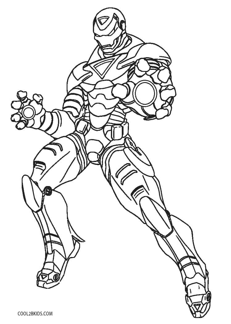 It is an image of Iron Man Printable for sheet