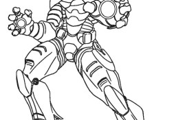 Ironman Coloring Pages Free Printable Iron Man Coloring Pages For Kids Cool2bkids
