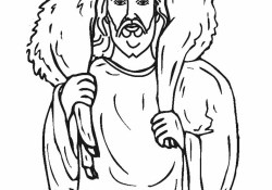 Jesus Coloring Page Free Printable Jesus Coloring Pages For Kids Cool2bkids