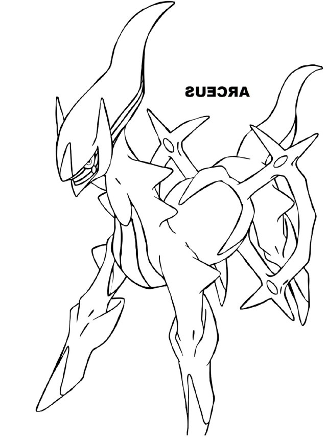 Legendary Pokemon Coloring Pages Legendary Pokemon Coloring Pages Archeus K5 Worksheets