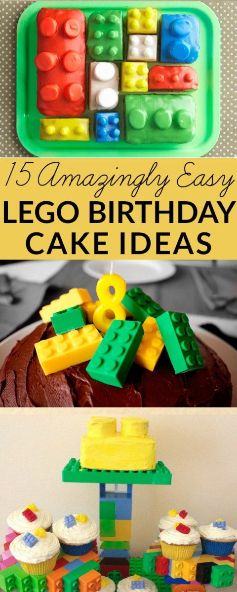 Lego Birthday Cake Ideas Lego Cake Ideas How To Make A Lego Birthday Cake