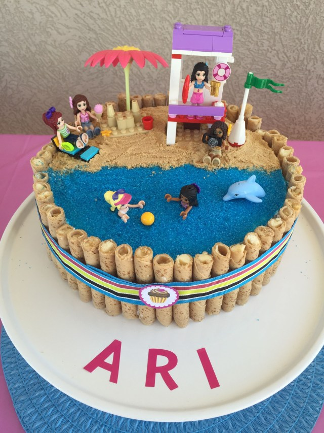 Lego Birthday Cake Ideas Lego Friends Birthday Cake Birthday Ideas Pinterest Lego