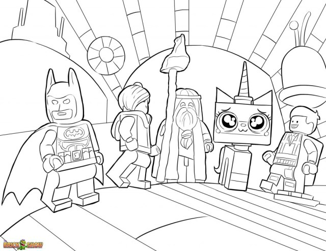 Lego Movie Coloring Pages Free Printable Lego Movie Coloring Pages