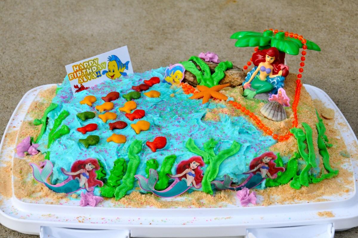 Marvelous Little Mermaid Birthday Cakes Mermaid Cakes Decoration Ideas Funny Birthday Cards Online Barepcheapnameinfo