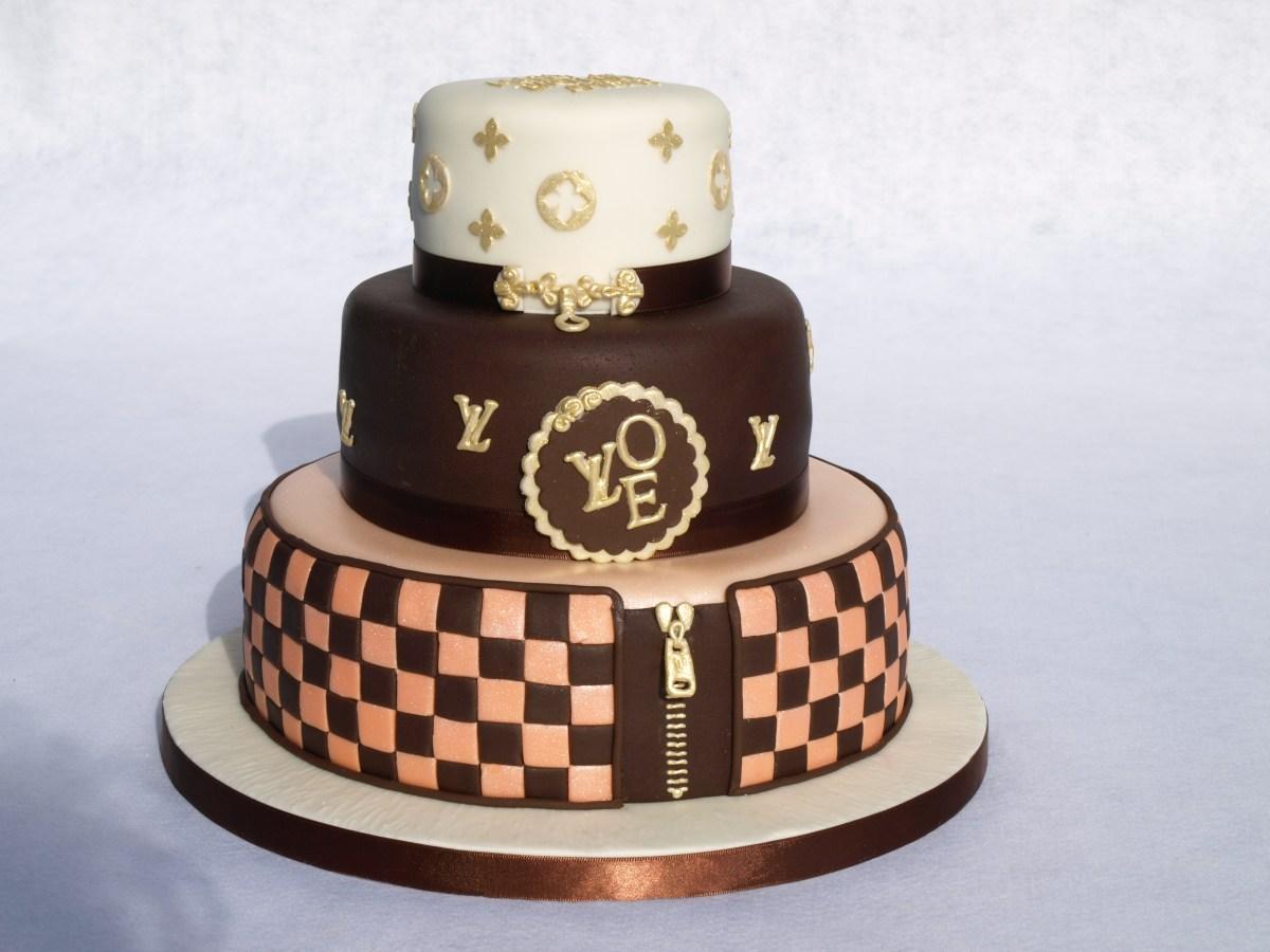Swell Louis Vuitton Birthday Cake Galleries Birthday Cakes Donna Jane Funny Birthday Cards Online Alyptdamsfinfo