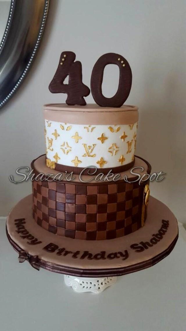 Louis Vuitton Birthday Cake 2 Birthdays In 2018
