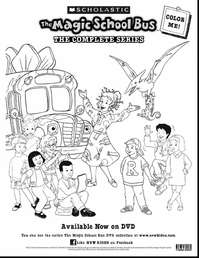 Magic School Bus Coloring Pages School Bus Printables Themewsbeautyclinic