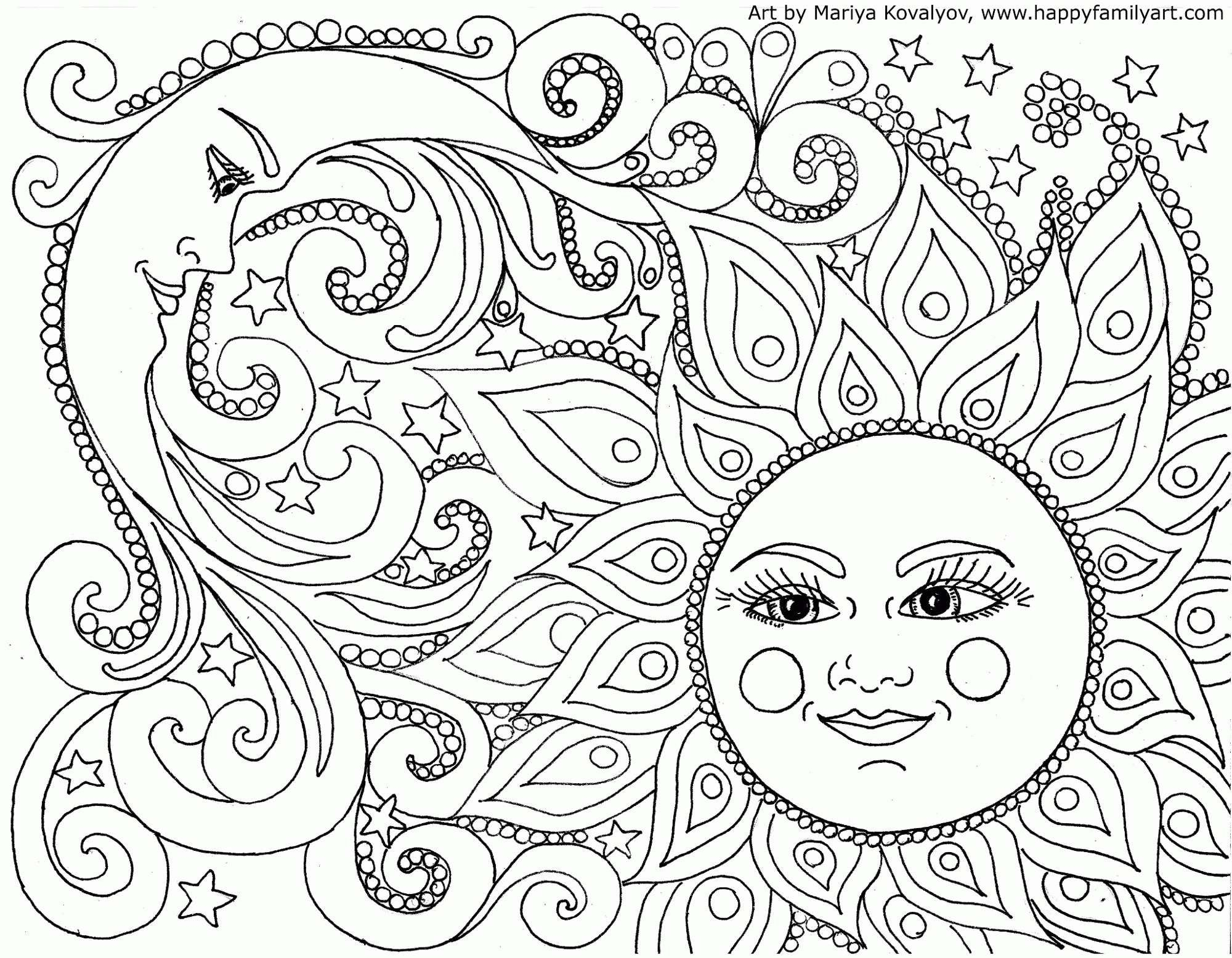 Mandala Coloring Sheets