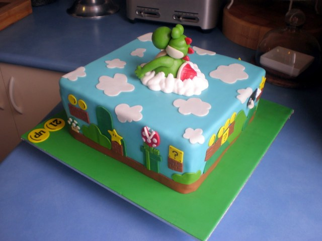 Mario Bros Birthday Cake 11 High 5 Mario Brothers Cakes Photo Mario 5th Birthday Cake