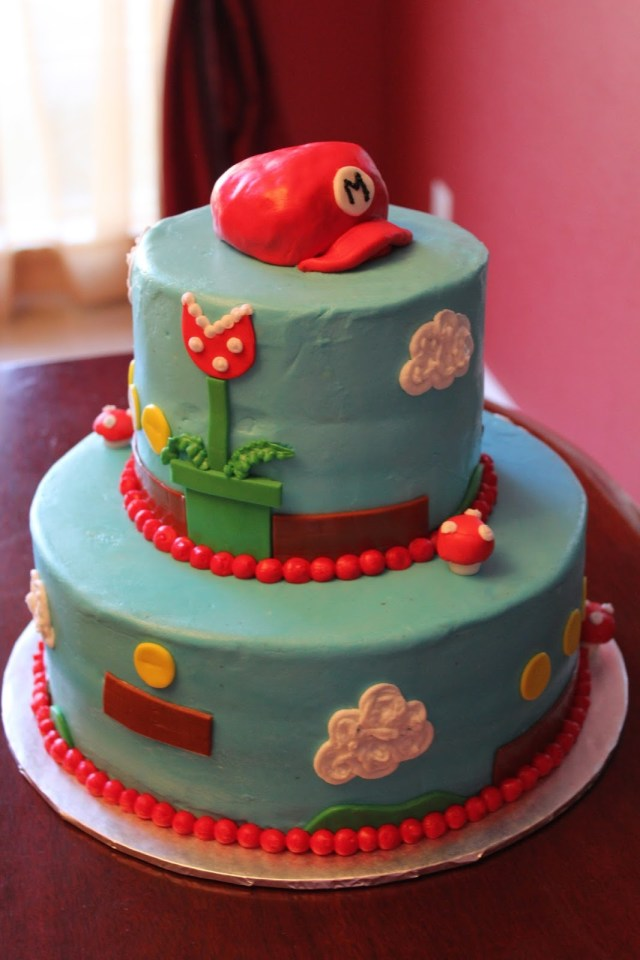 Mario Bros Birthday Cake A Blissful Bash Mario Bros Brothers Birthday Cakes