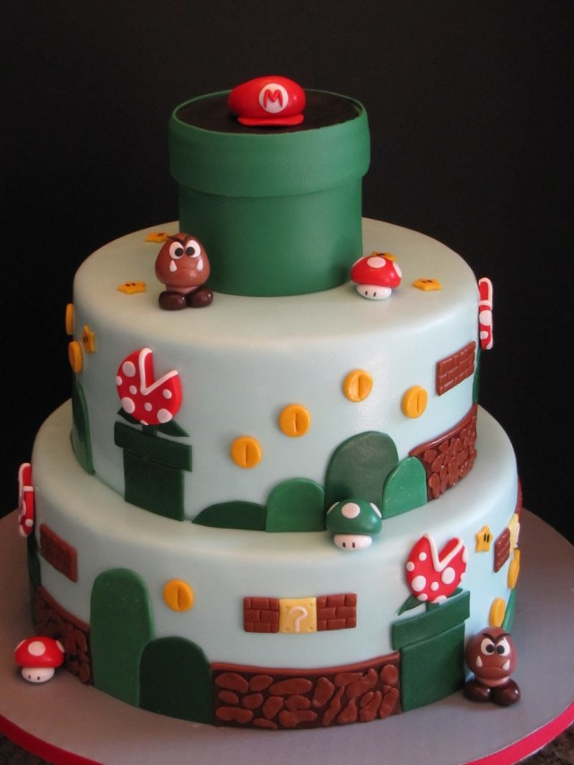 Mario Bros Birthday Cake Super Mario Brothers Birthday Cake Cakecentral