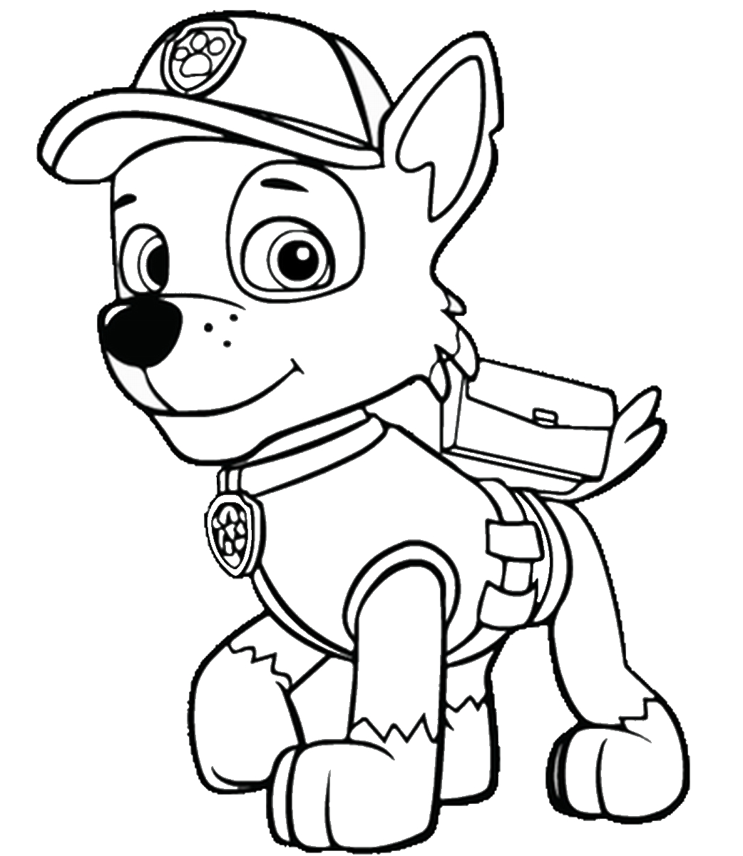 Marshall Paw Patrol Coloring Page Paw Patrol Coloring Pages Sheets Solid  Graphikworks Co Page Skye - birijus.com