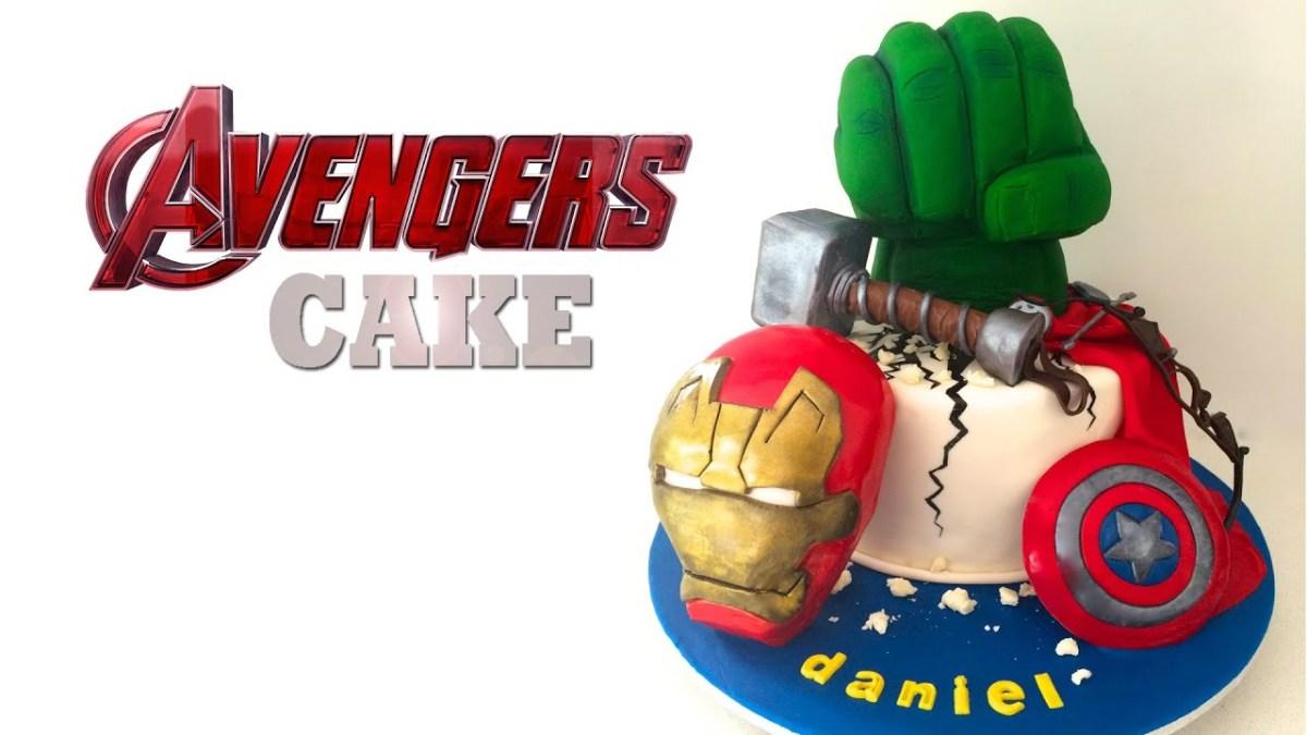 Marvel Birthday Cakes Avengers Cake Captain America Hulk Iron Man How To Cook That