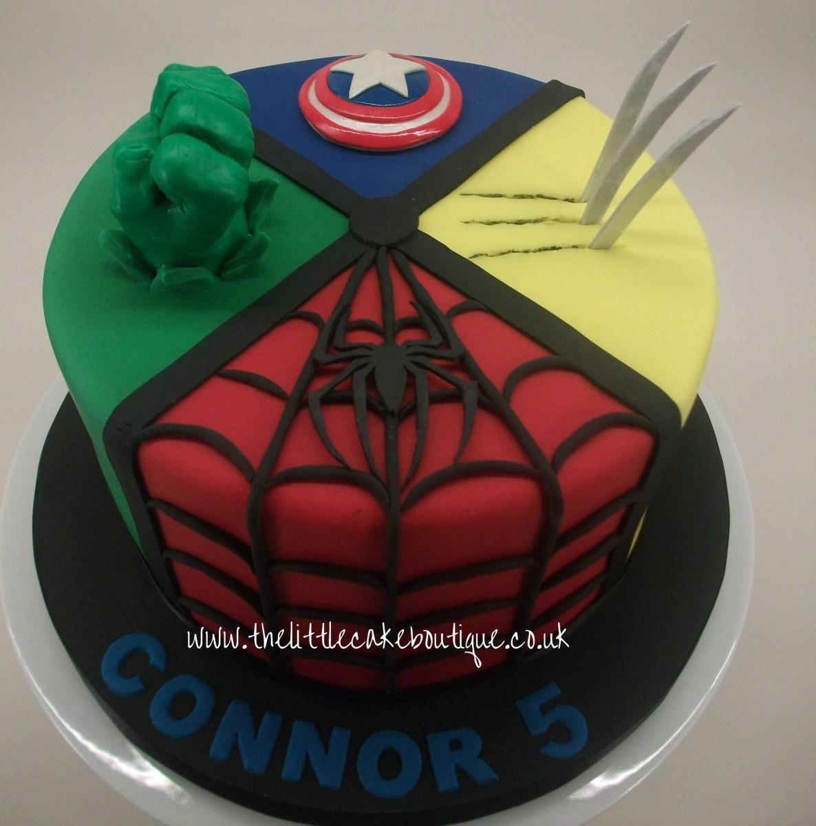 Peachy Marvel Birthday Cakes Marvel Avengers Birthday Cake With Hulk Fist Personalised Birthday Cards Veneteletsinfo