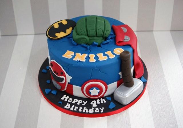 Marvel Birthday Cakes Power Rangers Avengers Birthday Cake Bakealous