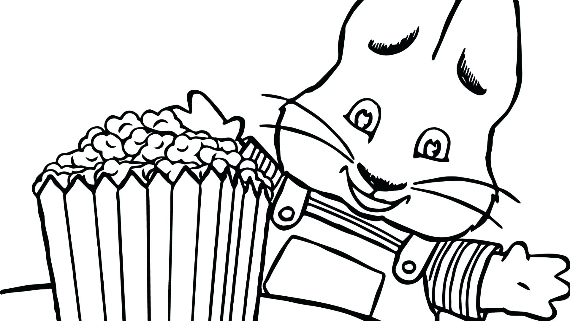 Max And Ruby Coloring Pages Max And Ru Coloring Pages Print Page ...