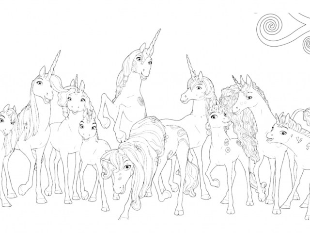 Mia And Me Coloring Pages Fresh Decoration Mia And Me Coloring Pages Mia And Me Free To Color