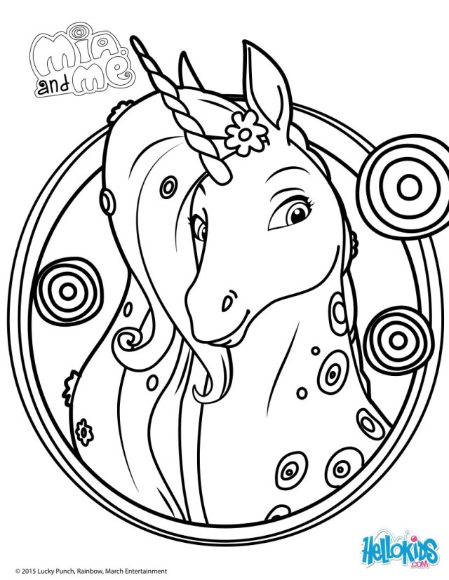 Mia And Me Coloring Pages Mia And Me 4 Printables Of Your Favorite Tv Characters