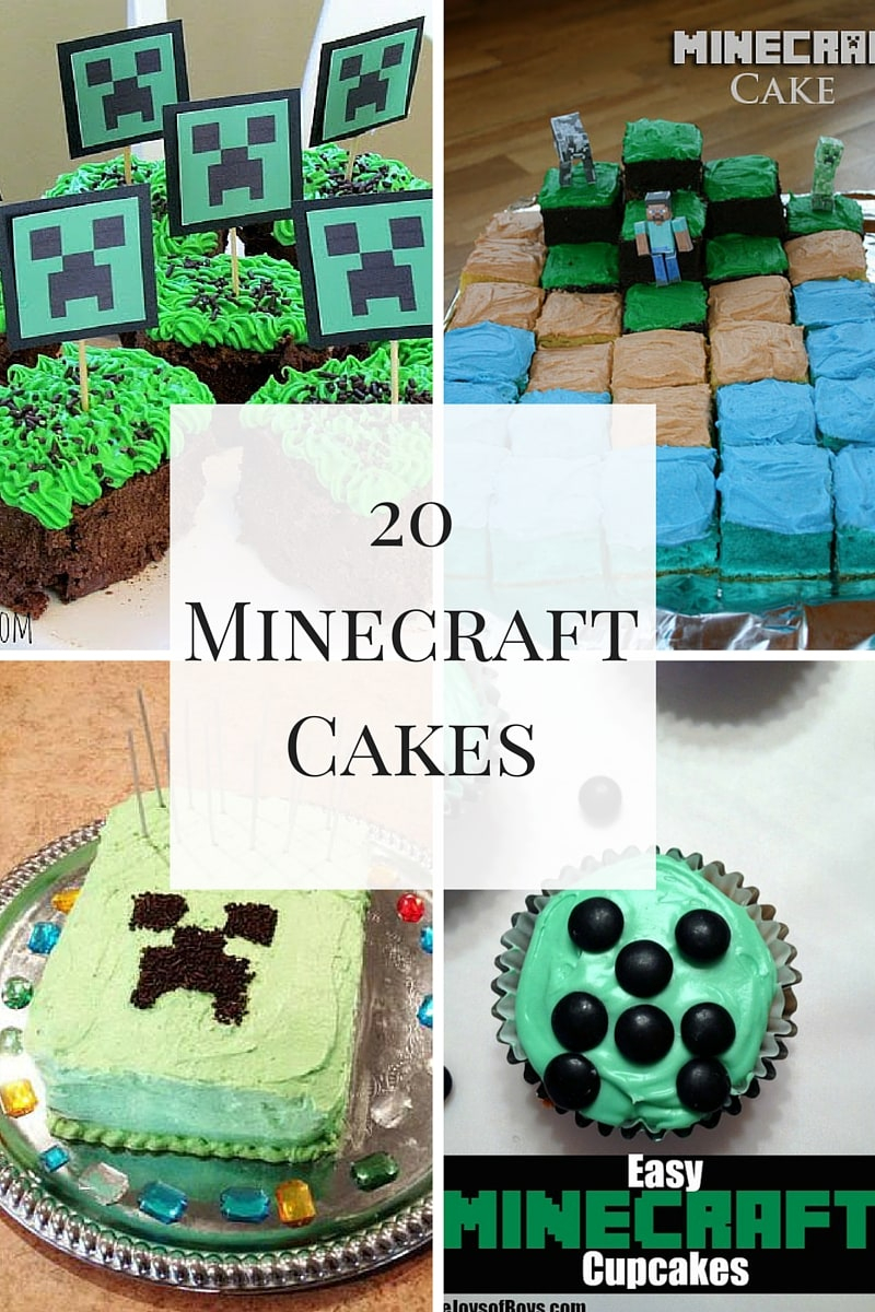 Fabulous Minecraft Birthday Cake Awesome Minecraft Cakes For A Spectacular Personalised Birthday Cards Paralily Jamesorg