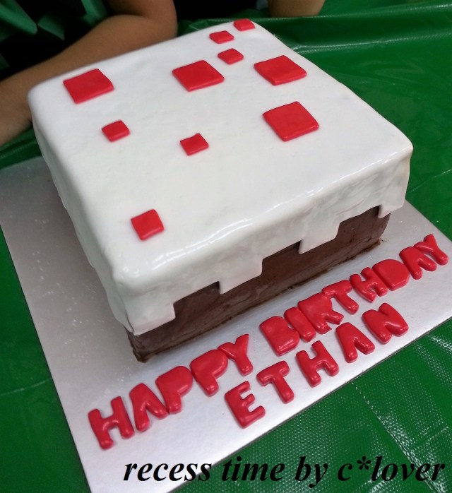 Minecraft Birthday Cake Uglee Cake Minecraft Birthday Cake