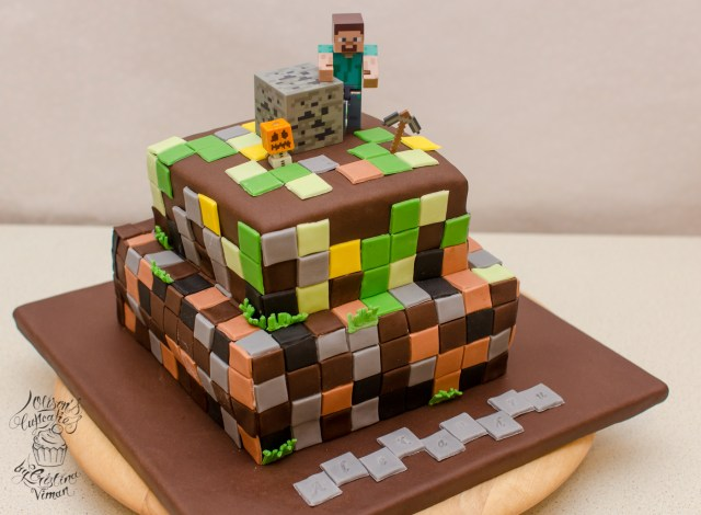 Minecraft Birthday Cakes Minecraft Birthday Cake Olisons Cupcakes