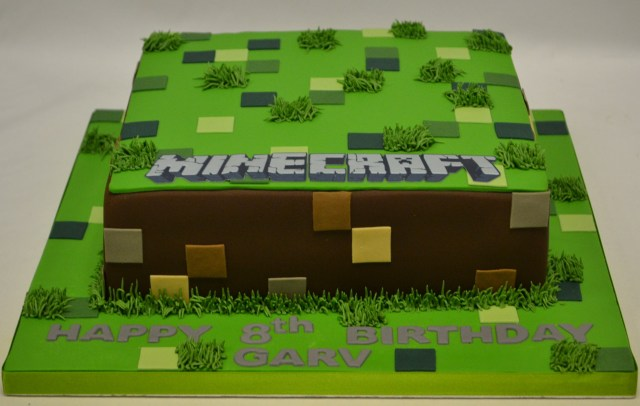 Minecraft Birthday Cakes Square Minecraft Cake Boys Birthday Cakes Celebration Cakes