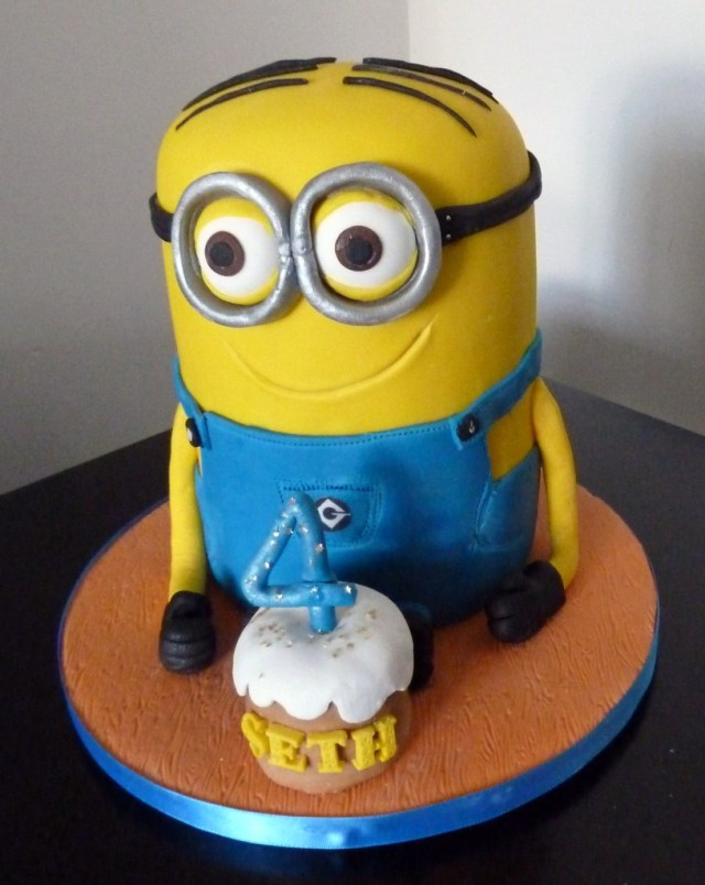 Minion Birthday Cake Images Minion Birthday Cake Wedding Birthday Cakes From Maureens