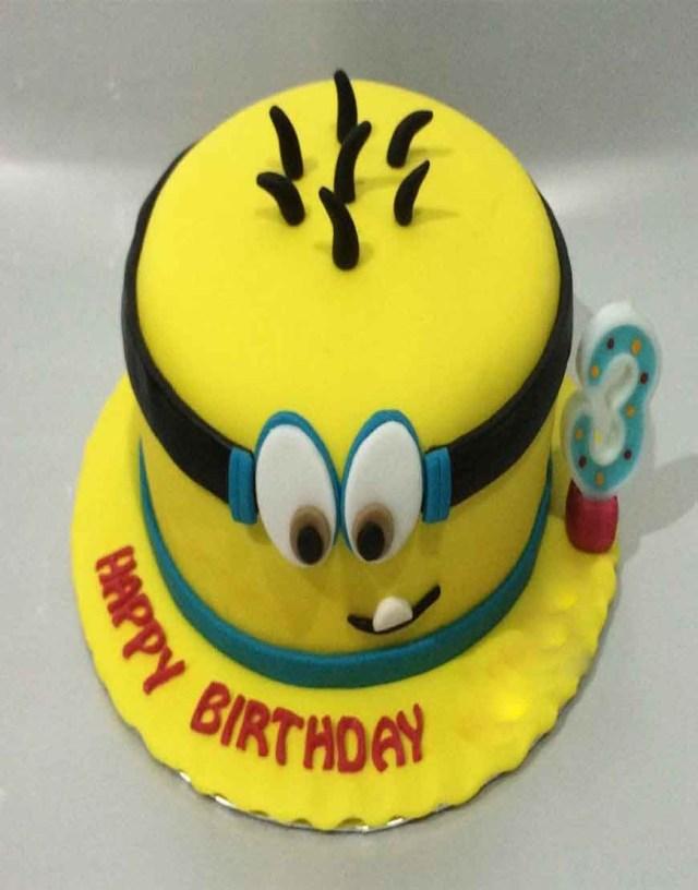 Minion Birthday Cake Images Minion Birthday Cakes For Kids Gurgaonbakers