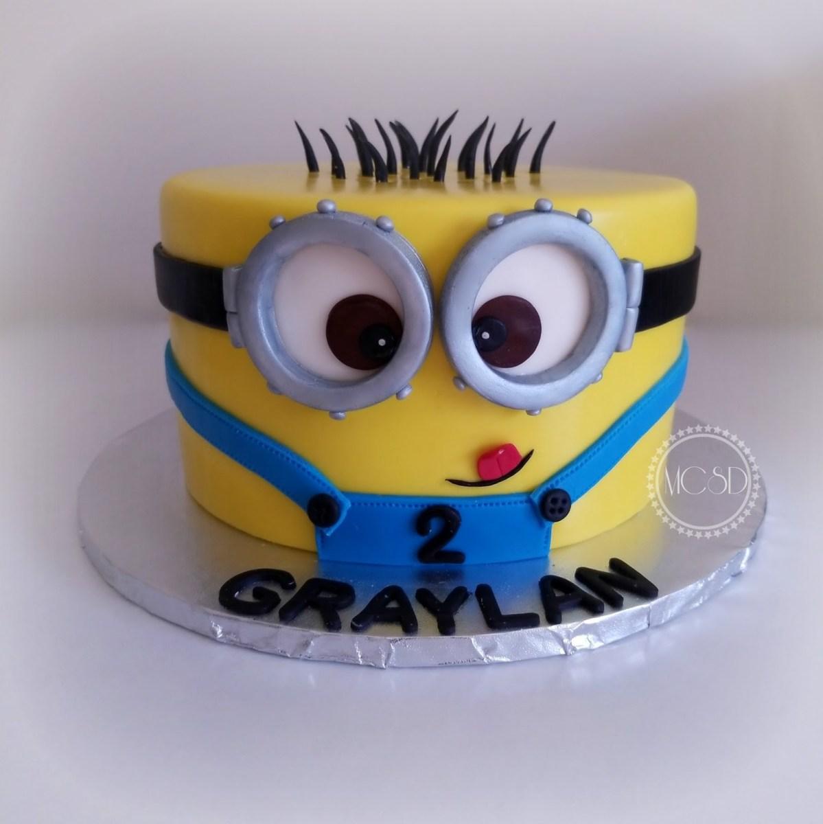 Marvelous Minion Birthday Cake Images Mycakesweetdreams Minion Birthday Cake Funny Birthday Cards Online Unhofree Goldxyz