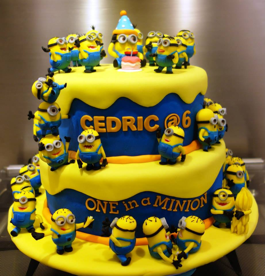 Pleasant Minion Birthday Cake Images Top 10 Crazy Minions Cake Ideas Personalised Birthday Cards Epsylily Jamesorg