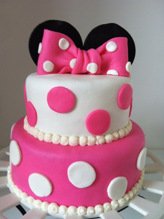 Minnie Mouse Birthday Cakes Minnie Mouse Birthday Cake 3rd Birthday 2 Birthday Cake