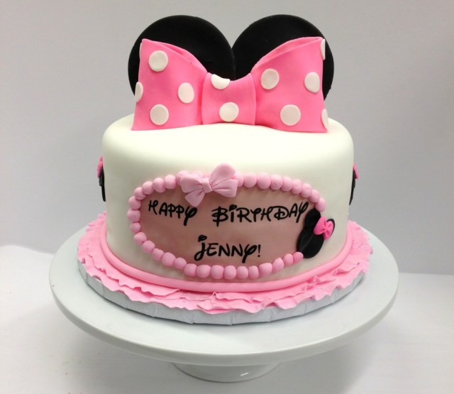 Minnie Mouse Birthday Cakes Minnie Mouse Birthday Cake Ba Beas Bakeshop