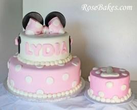 Minnie Mouse Birthday Cakes Minnie Mouse Birthday Cake