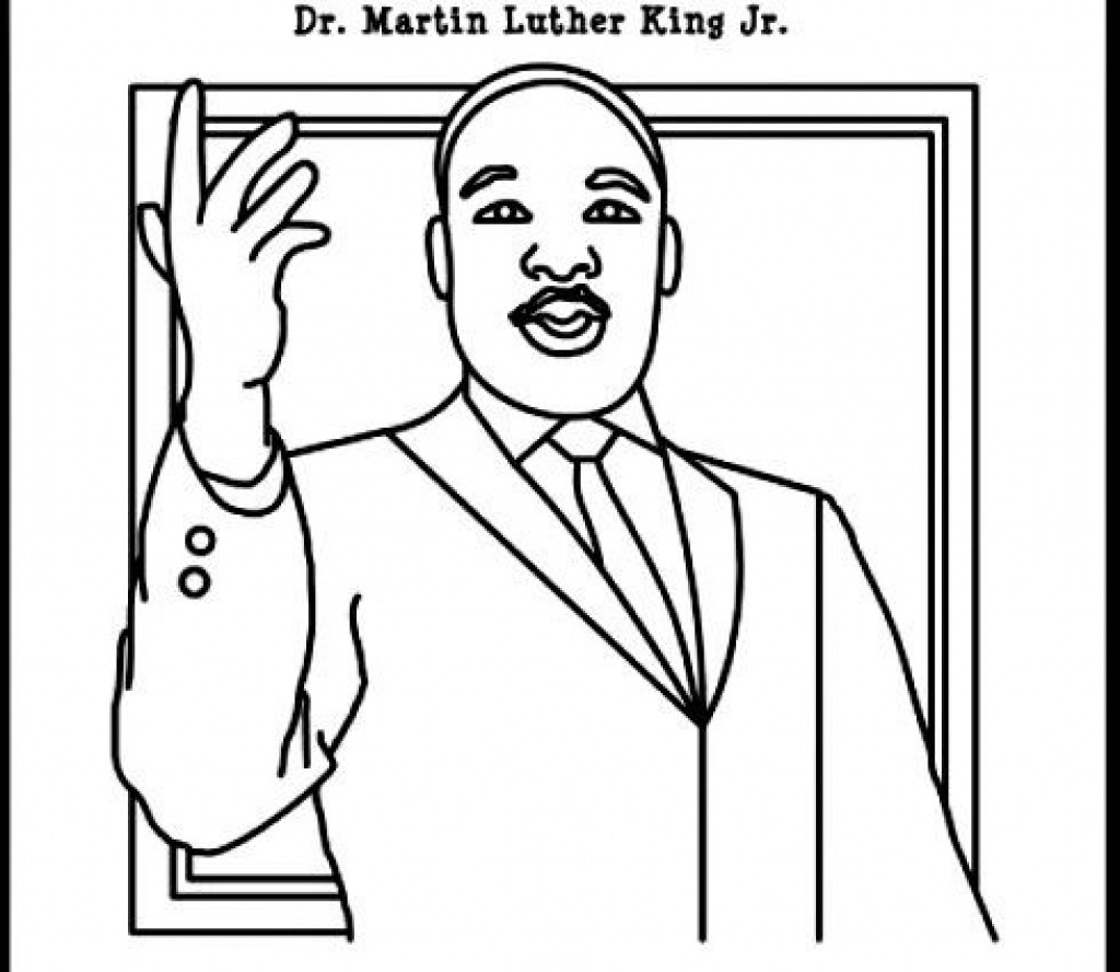 - Mlk Coloring Pages Martin Luther King Printable Coloring Pages