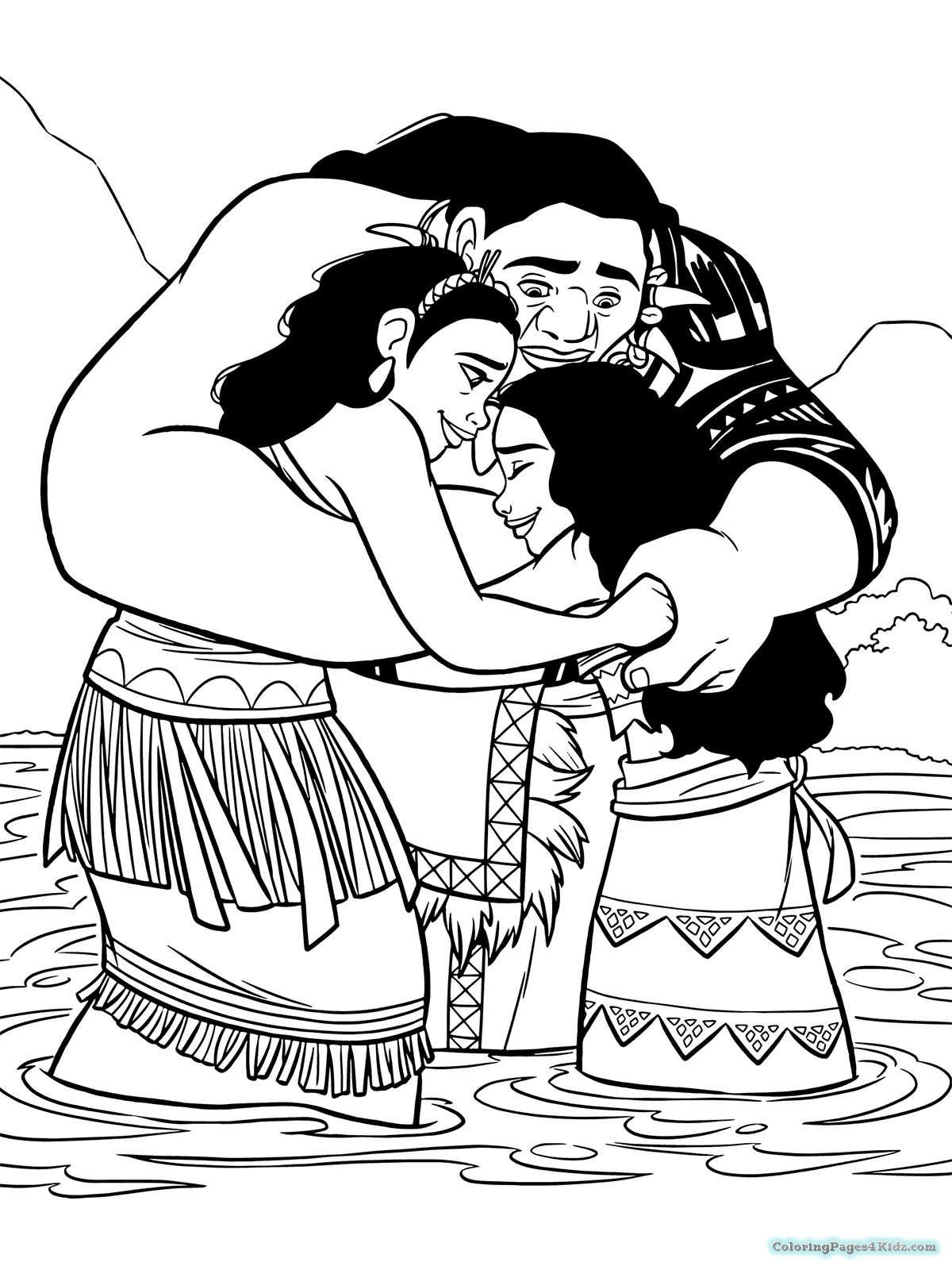 photo relating to Printable Coloring Pages Moana called Moana Printable Coloring Internet pages The Fact Above Moana