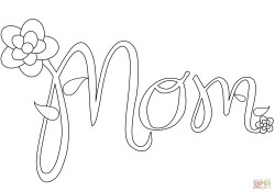 Mom Coloring Pages Mom Coloring Page Free Printable Coloring Pages