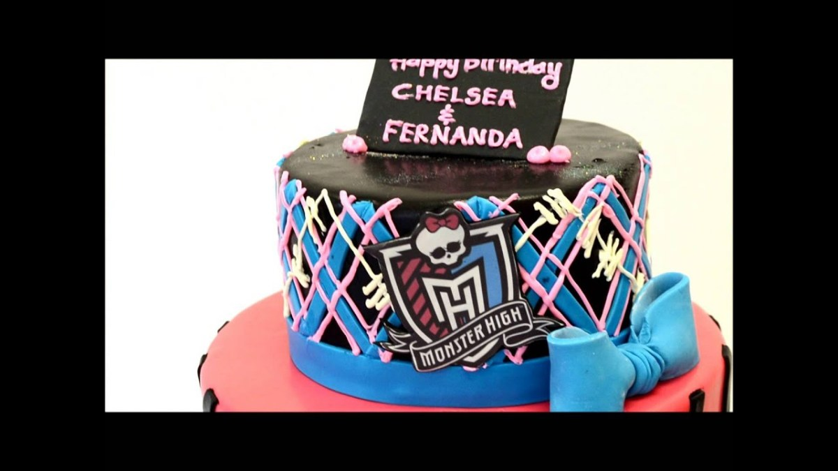 Cool Monster High Birthday Cakes Monster High Theme Cake Cake Ideas For Funny Birthday Cards Online Inifofree Goldxyz