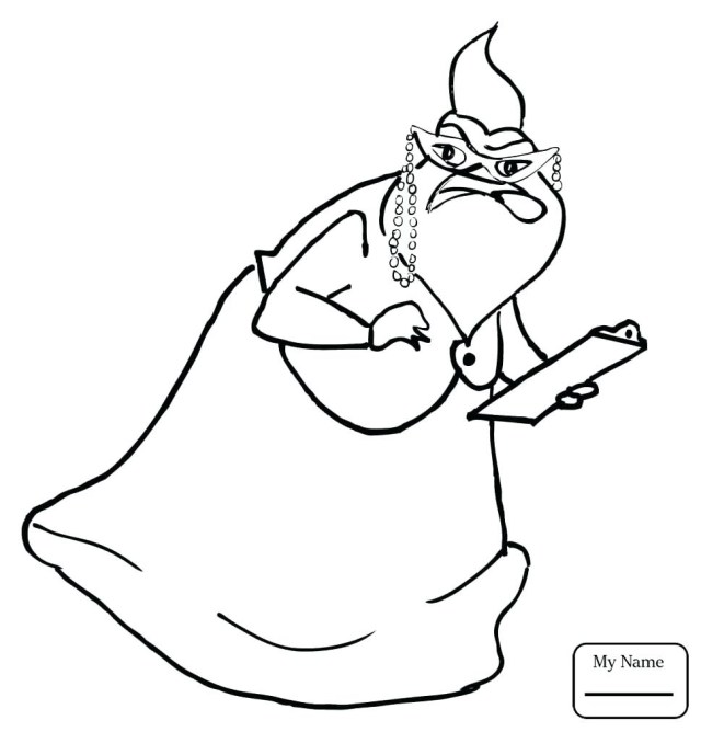 Monster Inc Coloring Pages Monsters Inc Coloring Pages Mike At Getdrawings Free For