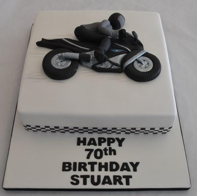 Motorcycle Birthday Cake 2d Motorbike Cake Boys Birthday Cakes Celebration Cakes Cakeology