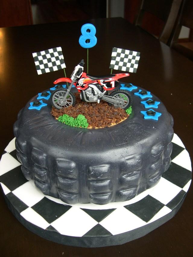 Motorcycle Birthday Cake 9 Motorcycle Birthday Cakes For Boys Photo Motorbike Birthday Cake