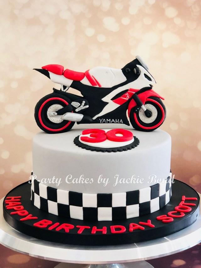 Motorcycle Birthday Cake Motorbike Yamaha R6 Cake Oslavy Narozky Pinterest Motorbike