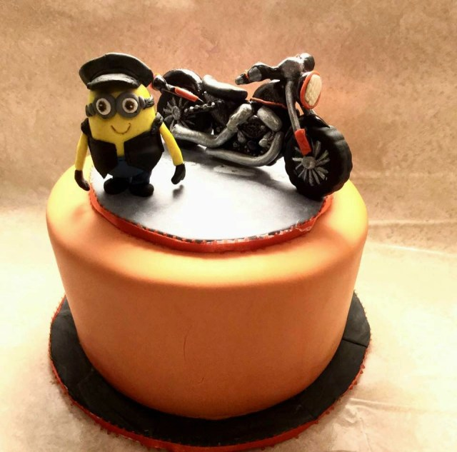 Motorcycle Birthday Cake Motorcycle Birthday Cake Cakecentral