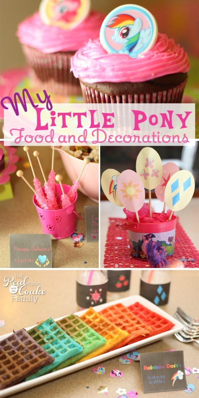 My Little Pony Birthday Cake My Little Pony Birthday Party Food And Decorating Ideas