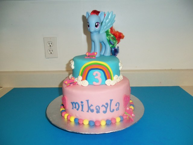My Little Pony Birthday Cake Sugarbakers Cake Design My Little Pony Birthday Cake