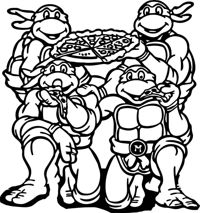 Image result for teenage mutant ninja turtles coloring pages ... | 682x640