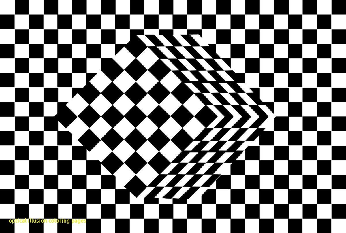Optical Illusions Coloring Book: Optical Illusion Coloring Pages ... | 809x1200