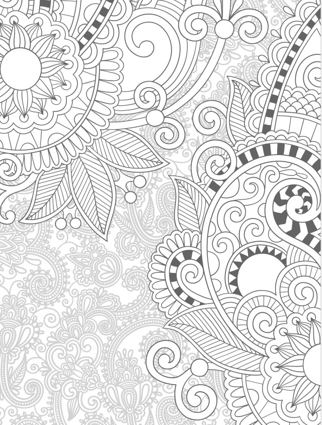 Paisley Coloring Pages Paisley Coloring Pages For Adults 2019 Free Printable