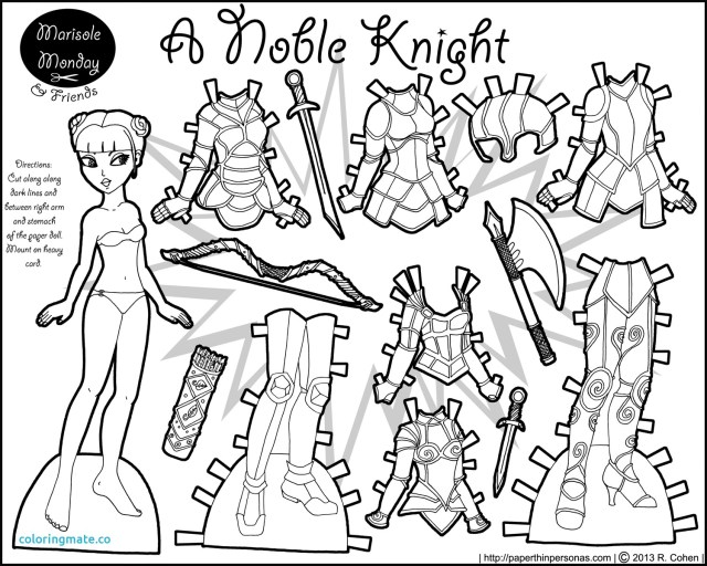 Exclusive Photo Of Paper Doll Coloring Pages Birijus Com